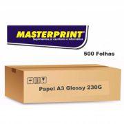 Caixa de Papel  Glossy A3 230G 500 folhas