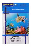 Filme Adesivo A4 Semi-transparente 150g 10 Folhas Masterprint a prova d'agua