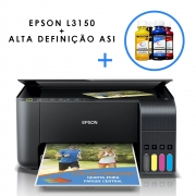 Impressora EPSON L3150 C/ Tinta Sublimática