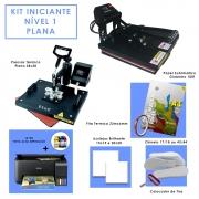 Kit Sublimação Iniciante Nível 1 - Plana