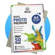 Papel A4 Fotográfico Glossy 200G MUNDI 50 FLS