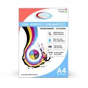 Vinil Adesivo Transparente 10 folhas