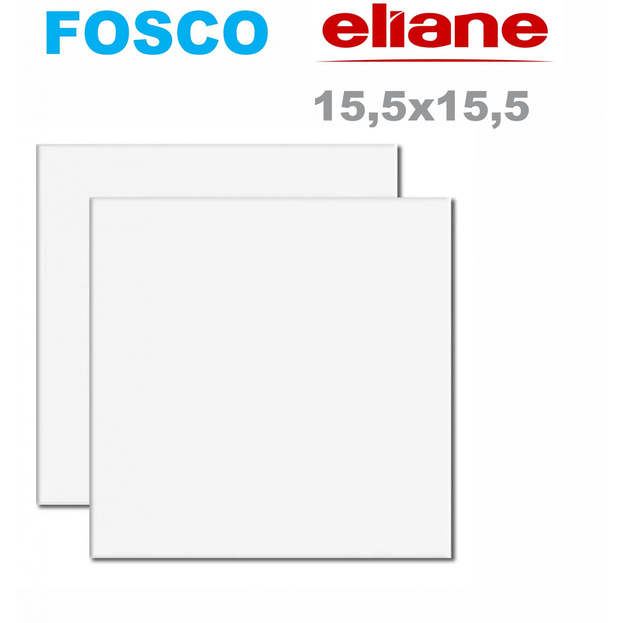 Azulejo Fosco 15X15 100 Unidades