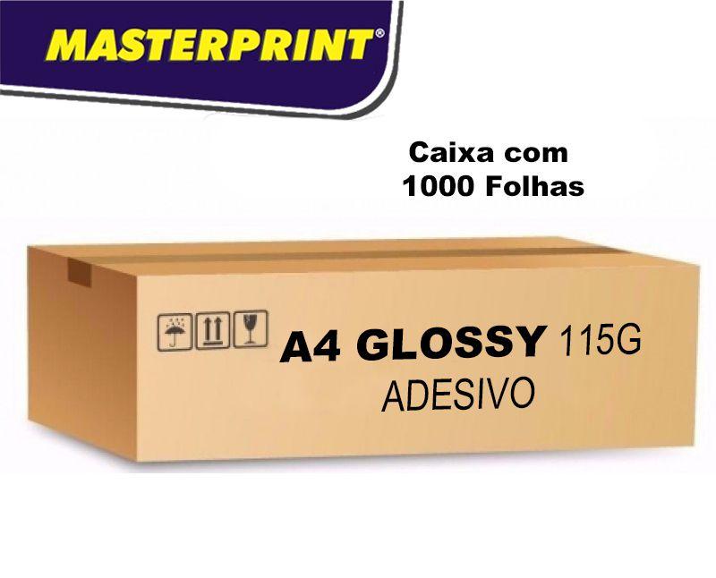Caixa de Adesivo Glossy 115G 1000 folhas