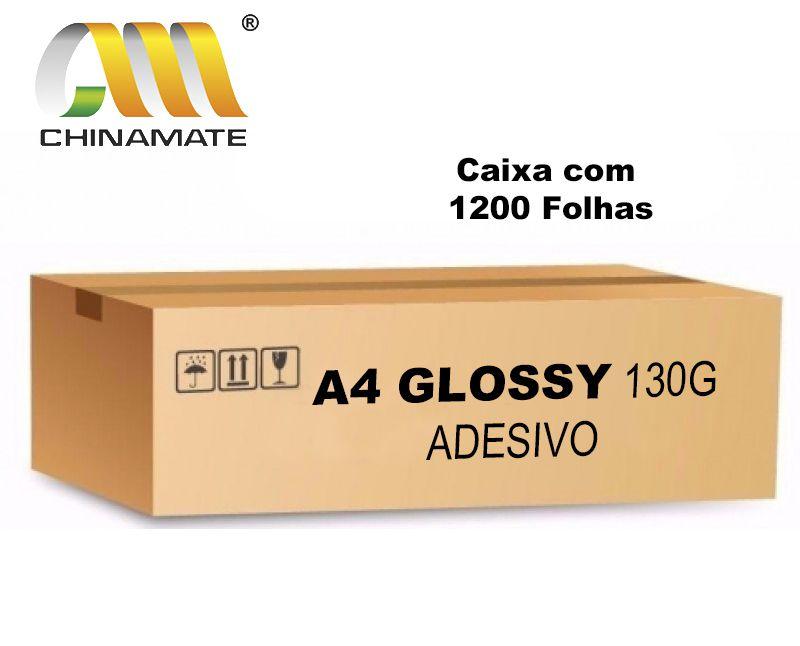 Caixa Adesivo Glossy 130G 1200 folhas