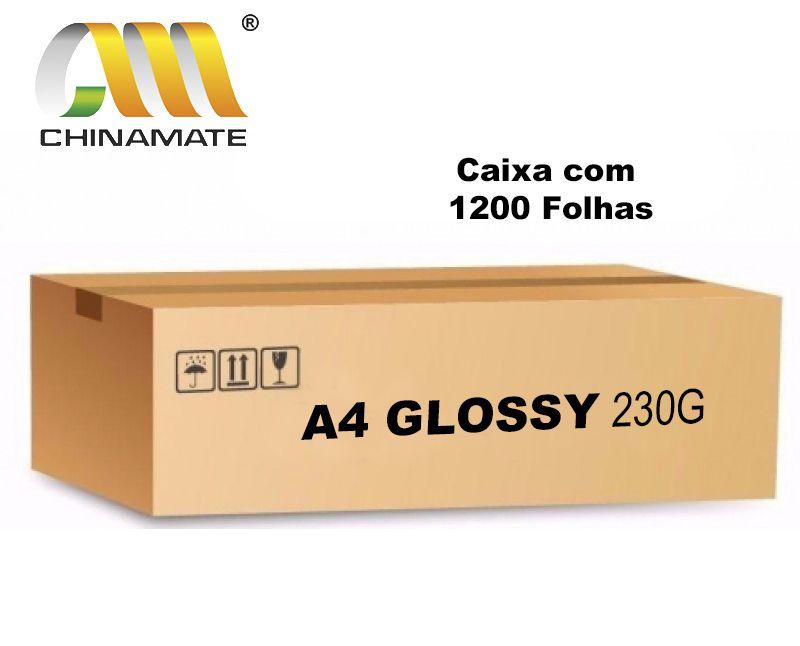Caixa Fotográfico Glossy 230G 1200 folhas