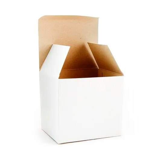 Caneca Cerâmica Branca IMPORTADA AAA C/ CAIXINHA - PREMIUM Metalnox