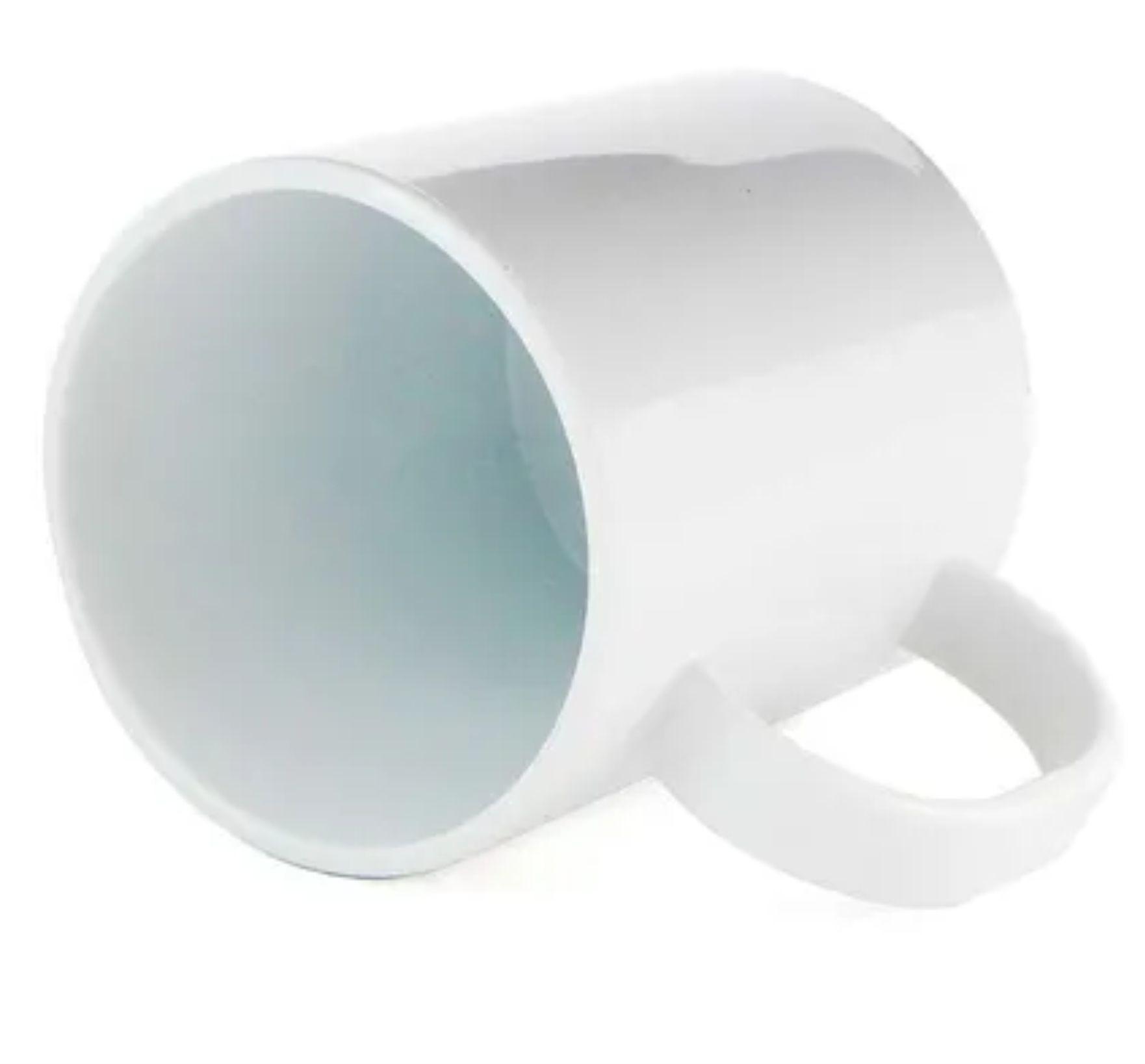 Caneca para Sublimação de Plástico Branco