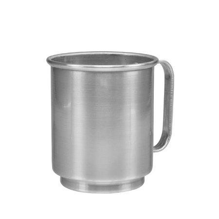 Caneca Prata De Alumínio P/ Sublimação 400ML