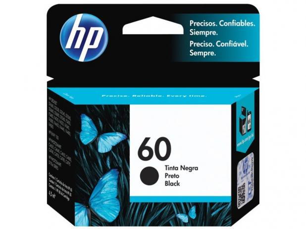 Cartucho de Tinta HP 60 Black  Original