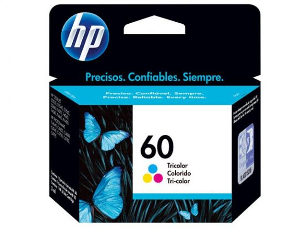 Cartucho de Tinta HP 60 Color  Original