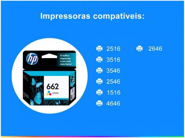 Cartucho de Tinta HP 662 Color  Original