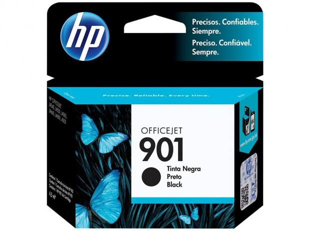 Cartucho de Tinta HP 901 Black  Original