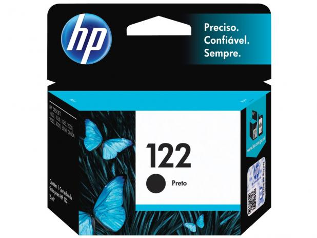 Cartucho de Tinta HP 122 Black Original