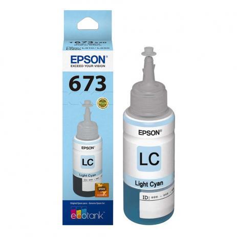 Tinta Epson Original 673 Ciano  Light  70 ML