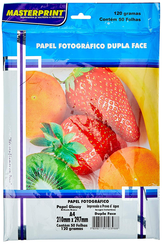 Dupla-Face Glossy 120G 50 folhas