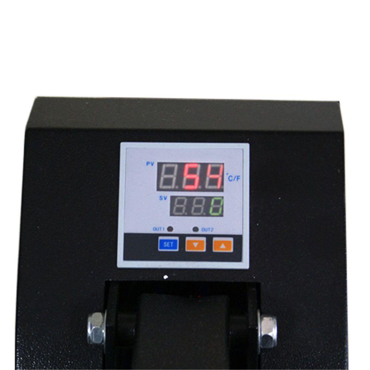 Prensa Plana 40x50 Semi-Automática