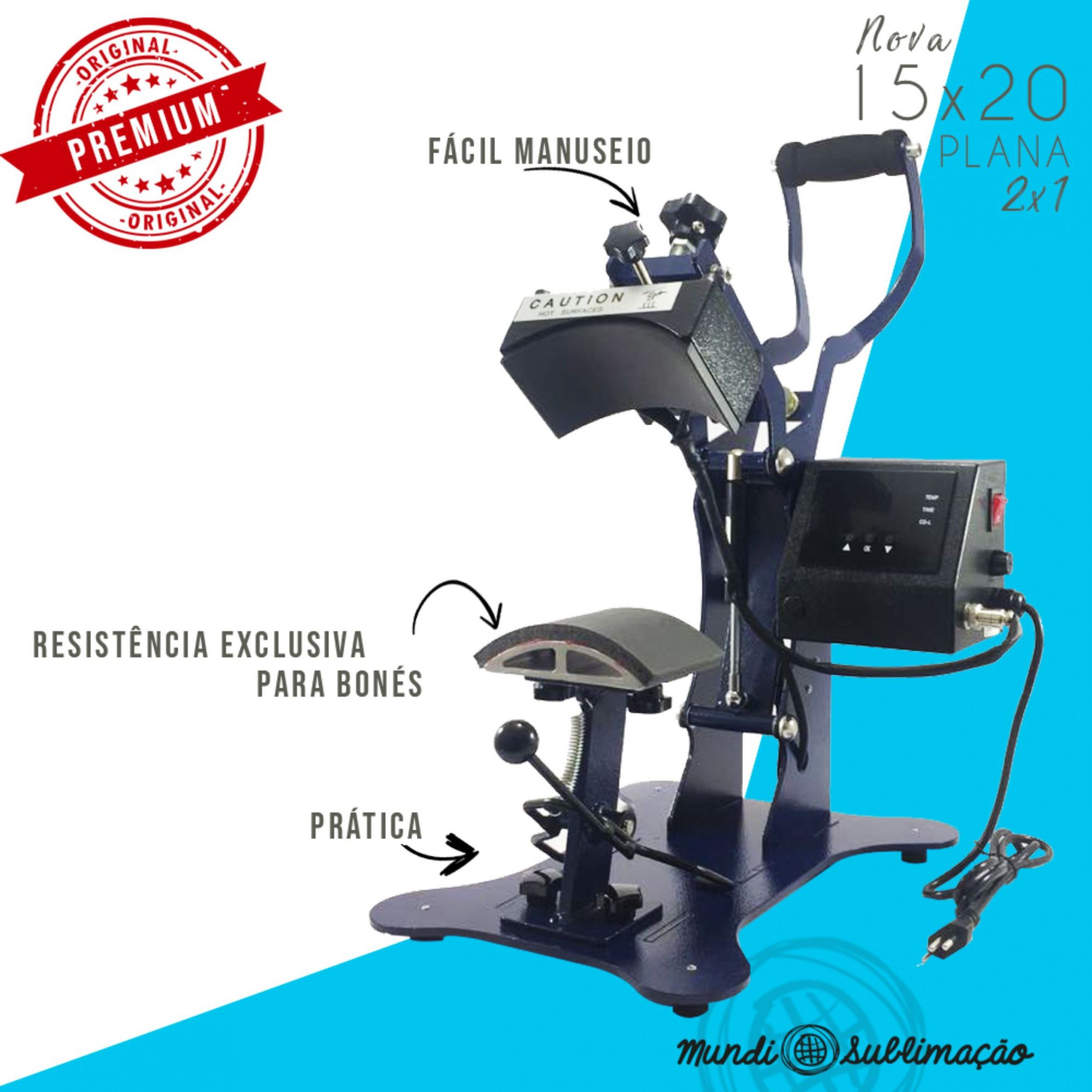 Prensa Premium Plana 15x20 2 x1