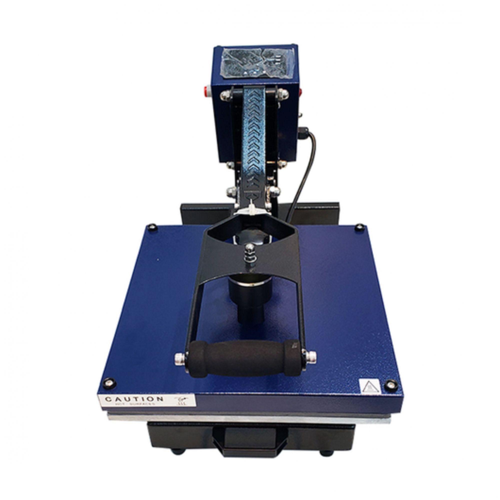 Prensa Térmica Plana (Base 38x38) Magnética com Gaveta Premium MUNDI