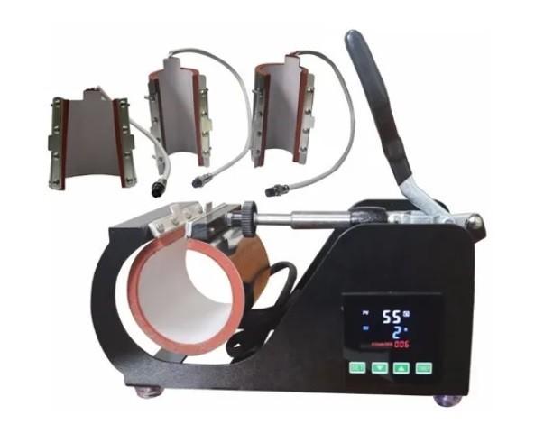 Prensa 4x1 Térmica/Transfer Para Canecas e Copos STC