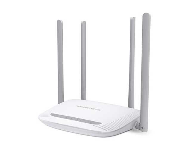 ROTEADOR MERCUSYS WI-FI N 300 MBPS 4 ANTENAS 5 DBI COM CONTROLE DOS PAIS, MW325R