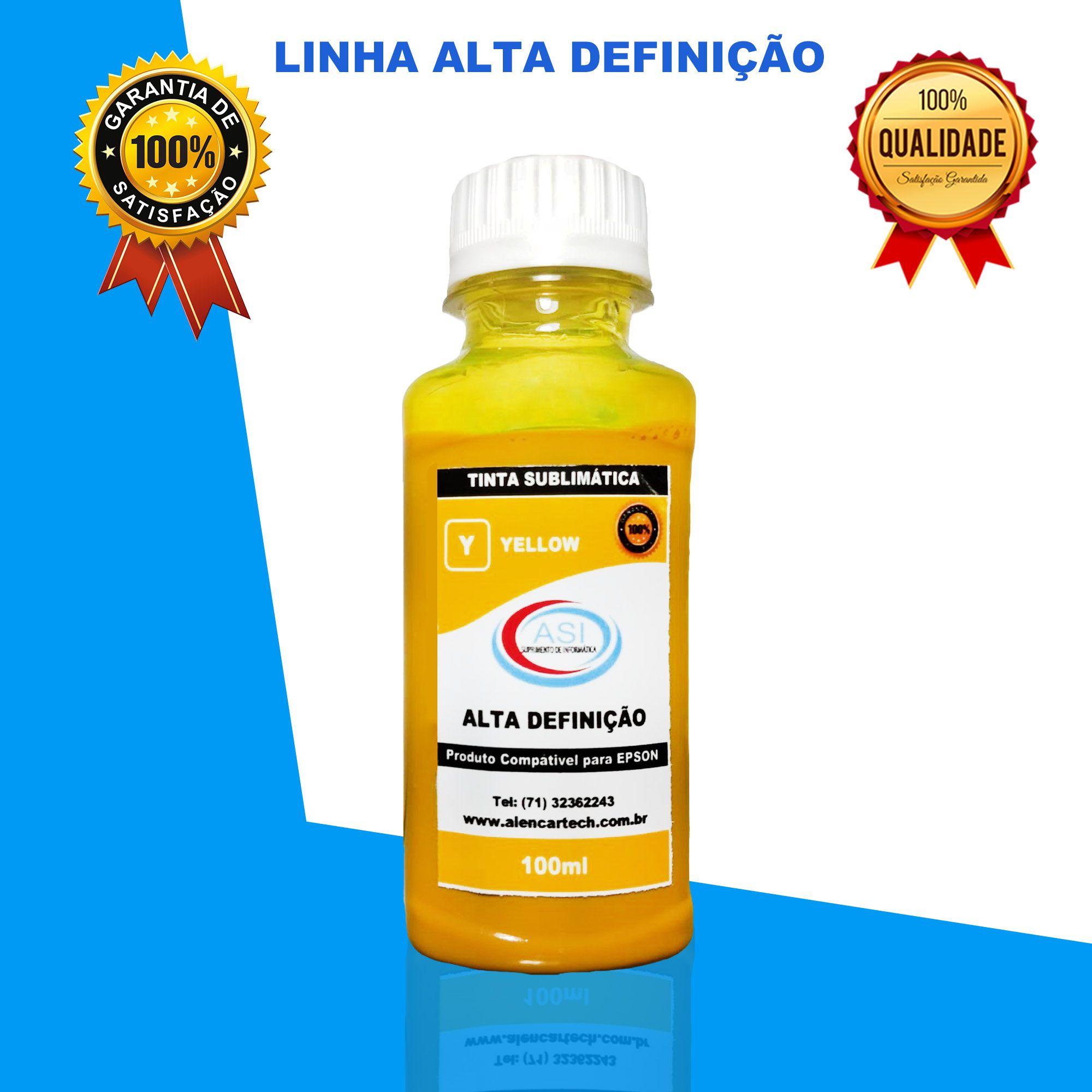 Sublimática Alta Definição Yellow 100ML/500ML/1LITRO