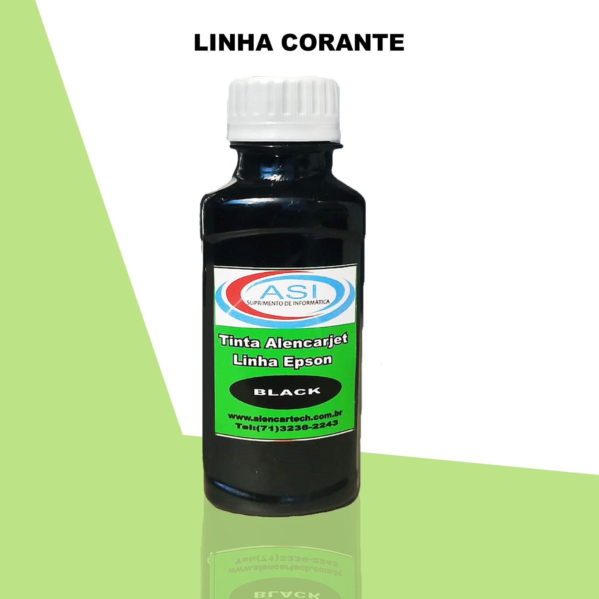 Tinta Corante ASI  Black 100ML/500ML/1LITRO