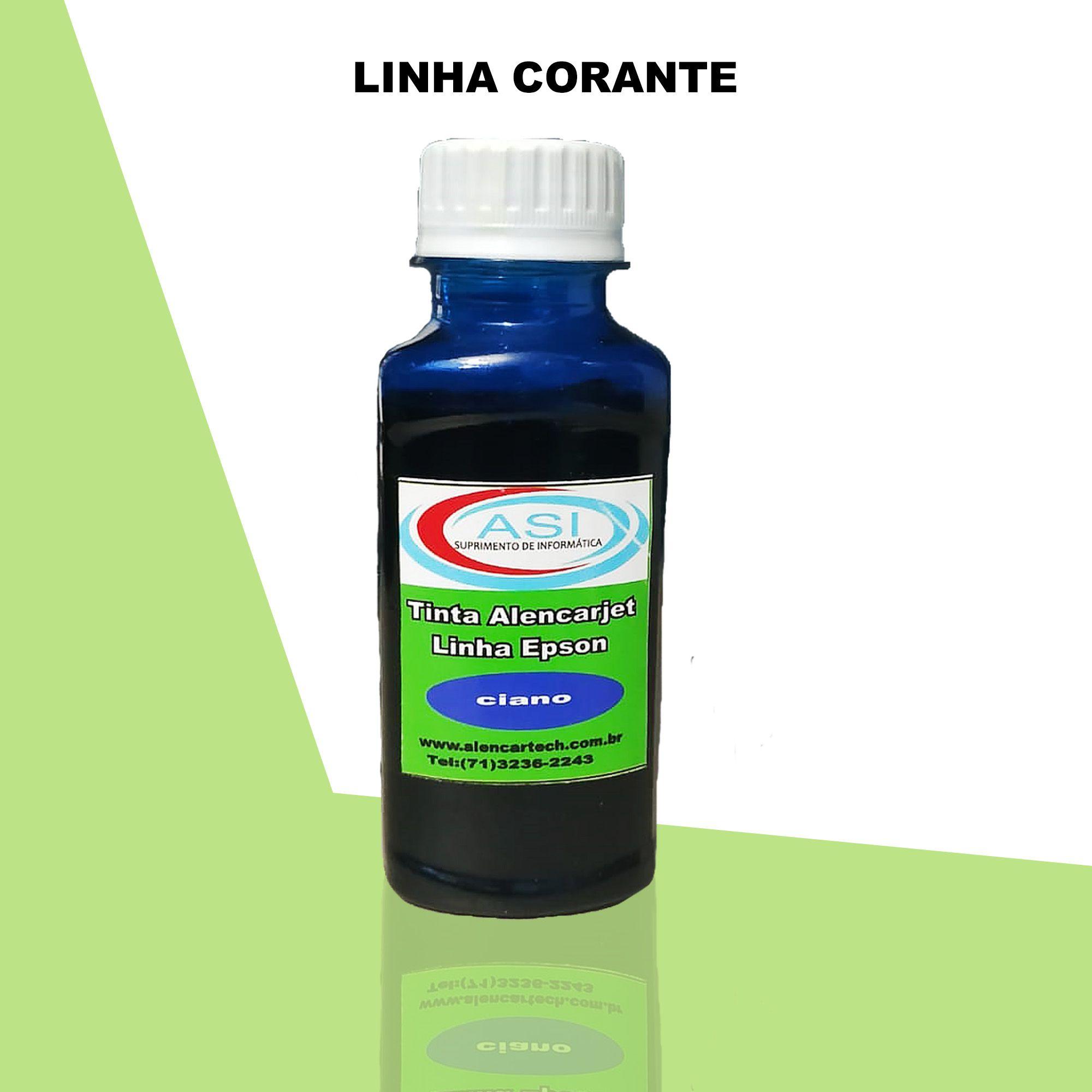 Tinta Corante ASI  Ciano 100ML/500ML/1LITRO