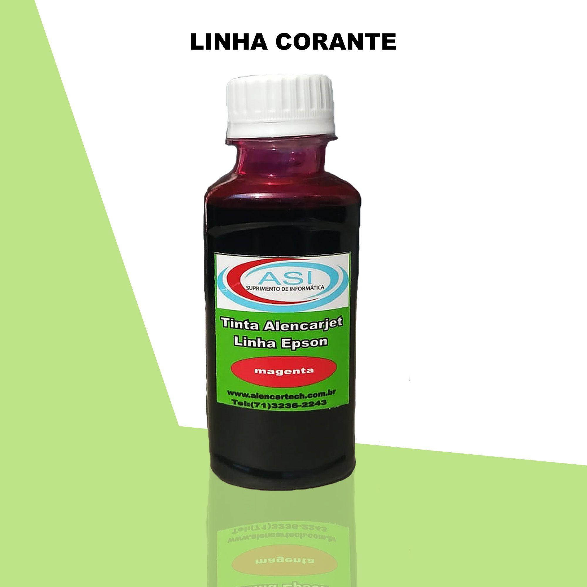 Tinta Corante ASI  Magenta 100ML/500ML/1LITRO