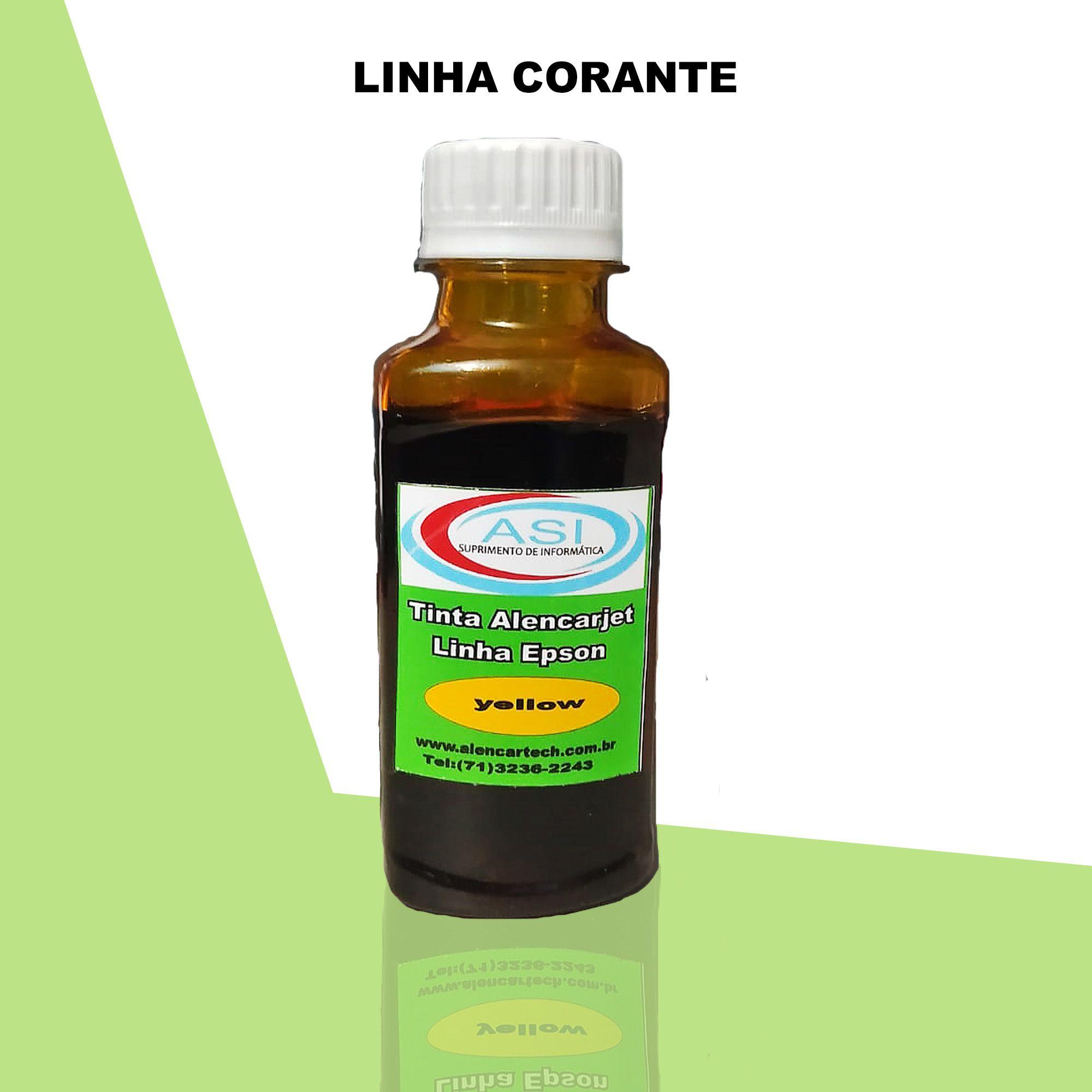 Tinta Corante ASI  Yellow 100ML/500ML/1LITRO