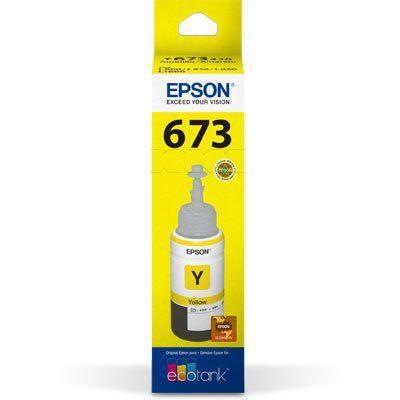 Tinta Epson Original 673 Yellow 70 ML