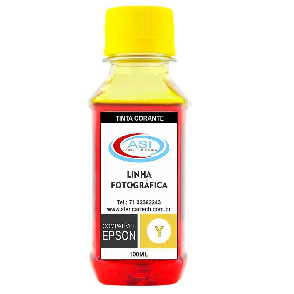 Tinta Fotográfica ASI Yellow 100ML/500ML/1 LITRO