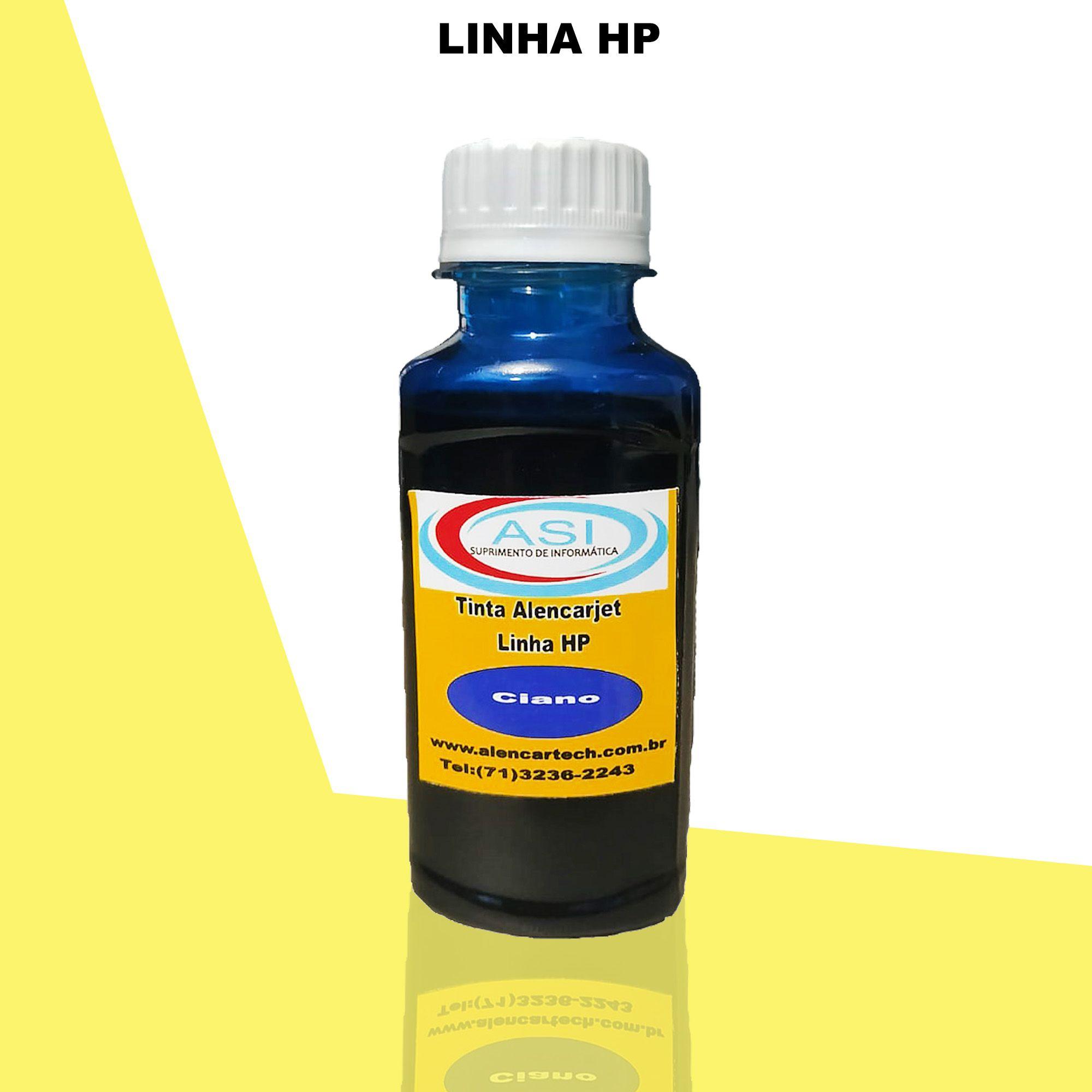 Tinta para HP ASI  Ciano 100ML/500ML/1LITRO