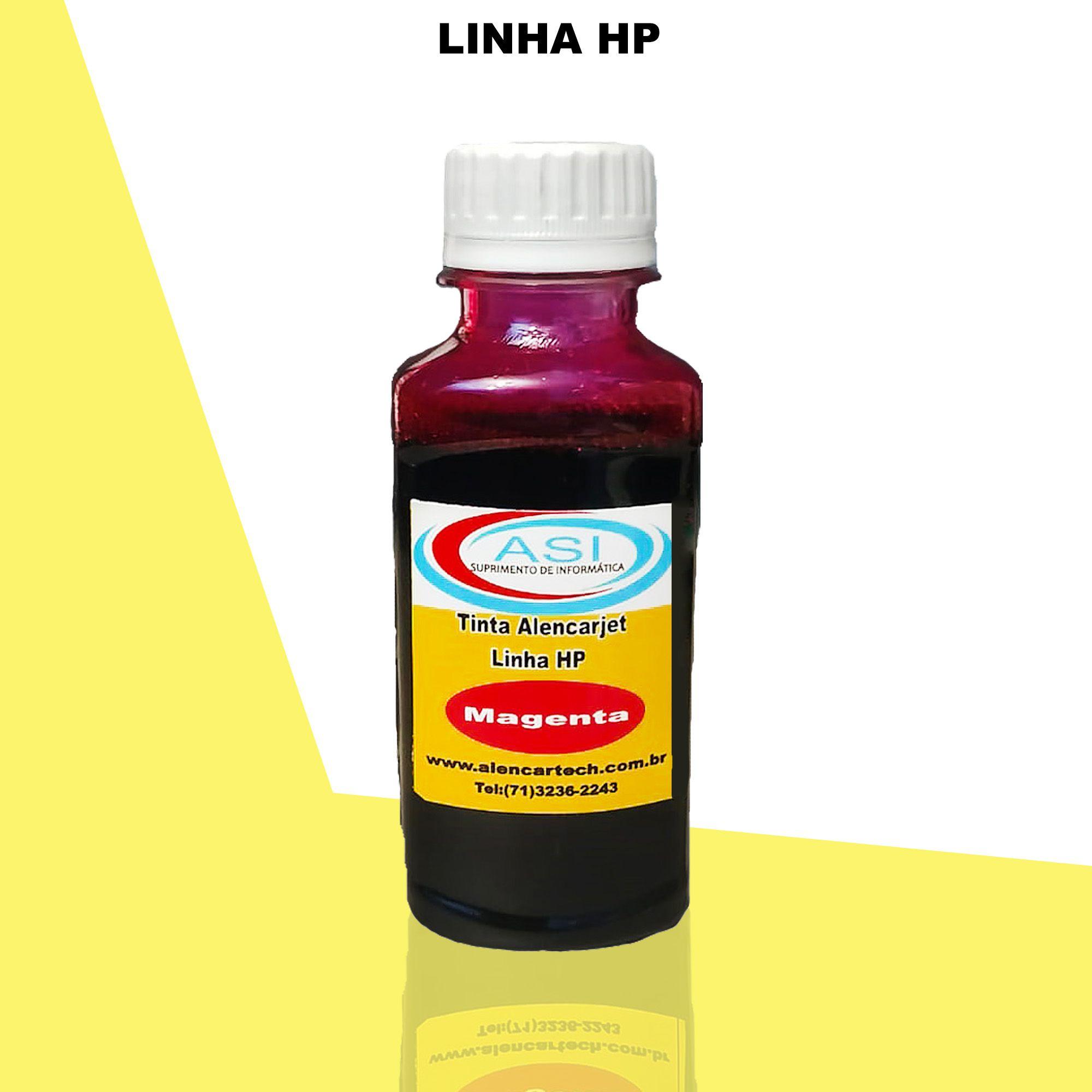 Tinta para HP ASI  Magenta 100ML/500ML/1LITRO