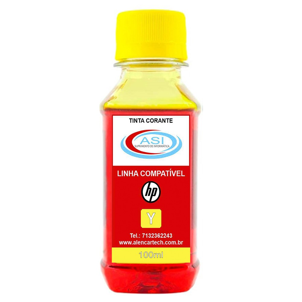 Tinta para HP ASI  Yellow 100ML/500ML/1 LITRO