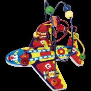 Brinquedo Educativo Aramado Avião Colorido