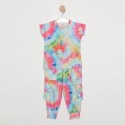 Conjunto Comfy Infantil Tie Dye Rosa