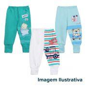Kit Mijão Bebê 3 Peças Menino Surpresa Colorido