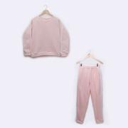 Pijama Adulto em Soft Fleece Rosa