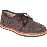 Sapato Oxford Infantil Menino Marrom Café