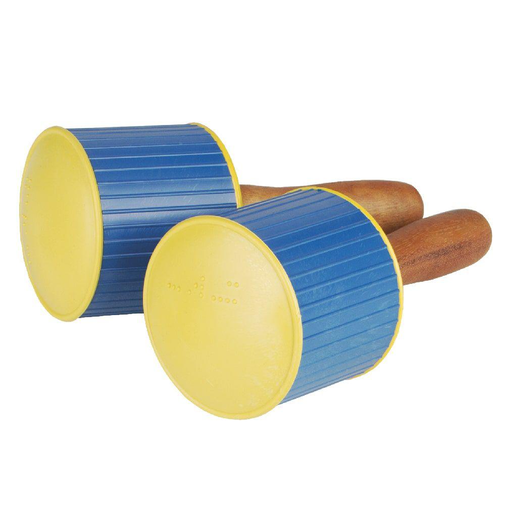 Brinquedo Educativo Instrumento Musical Maracá Colorido