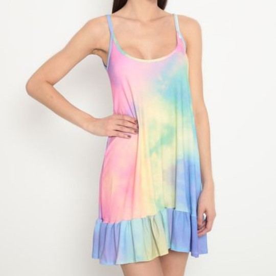 Camisola Adulto Tie Dye Colorida