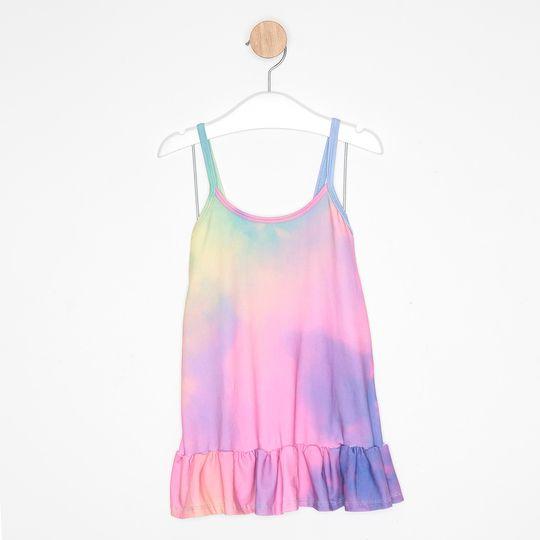 Camisola Infantil Tie Dye Colorida