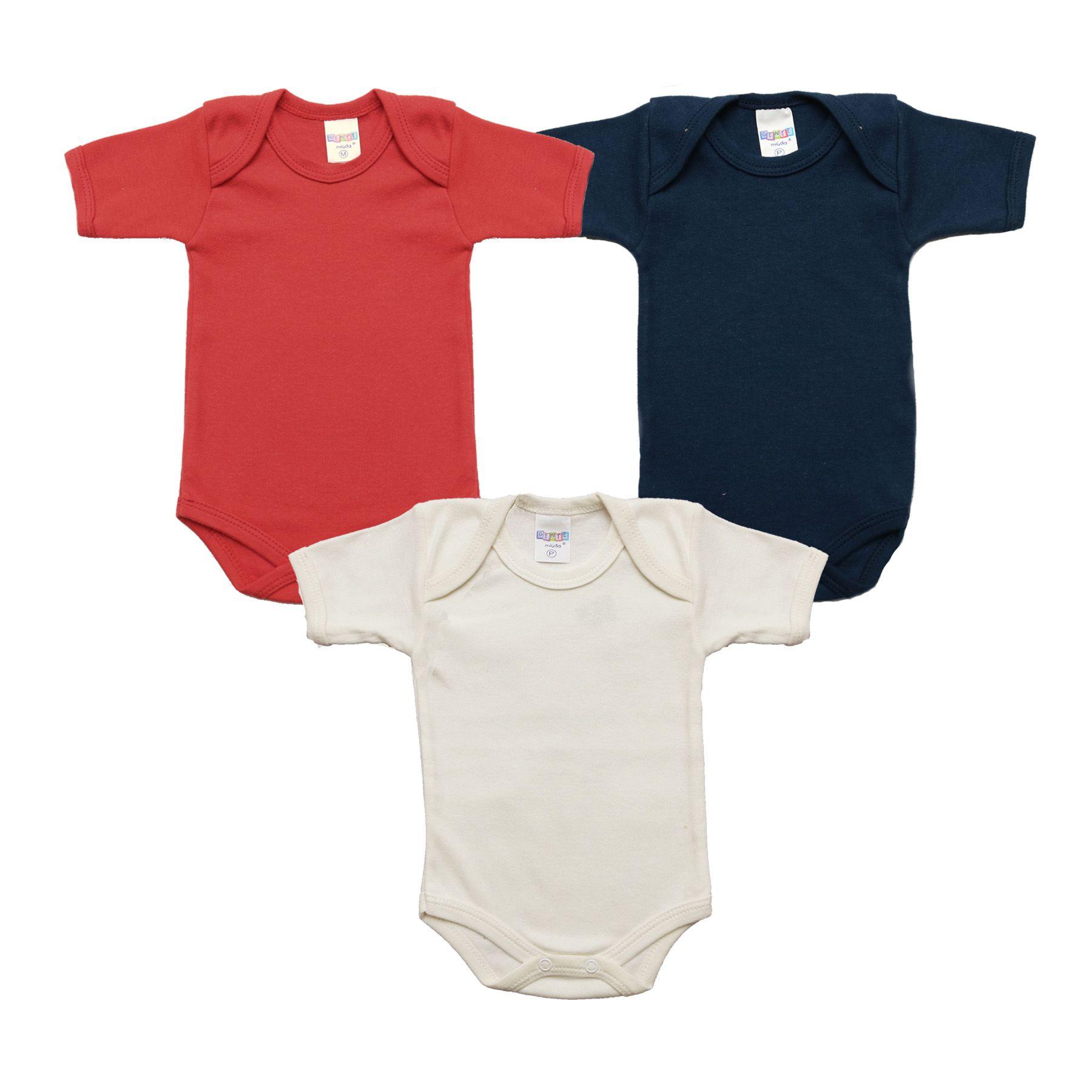 Kit Body Bebê com 3 Peças Básicos