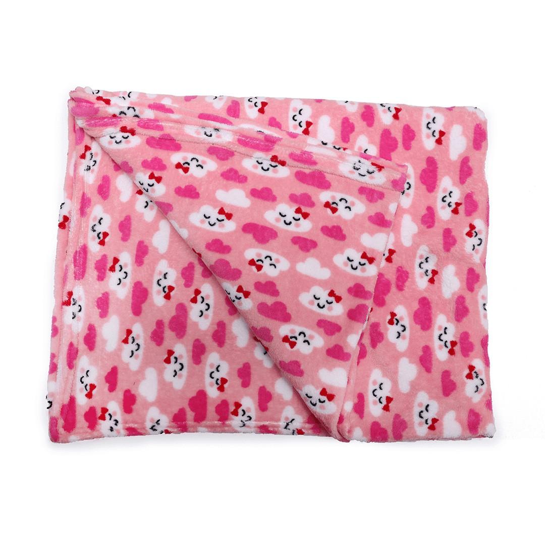 Manta em Soft 2,5mx1,40m Nuvem Pink