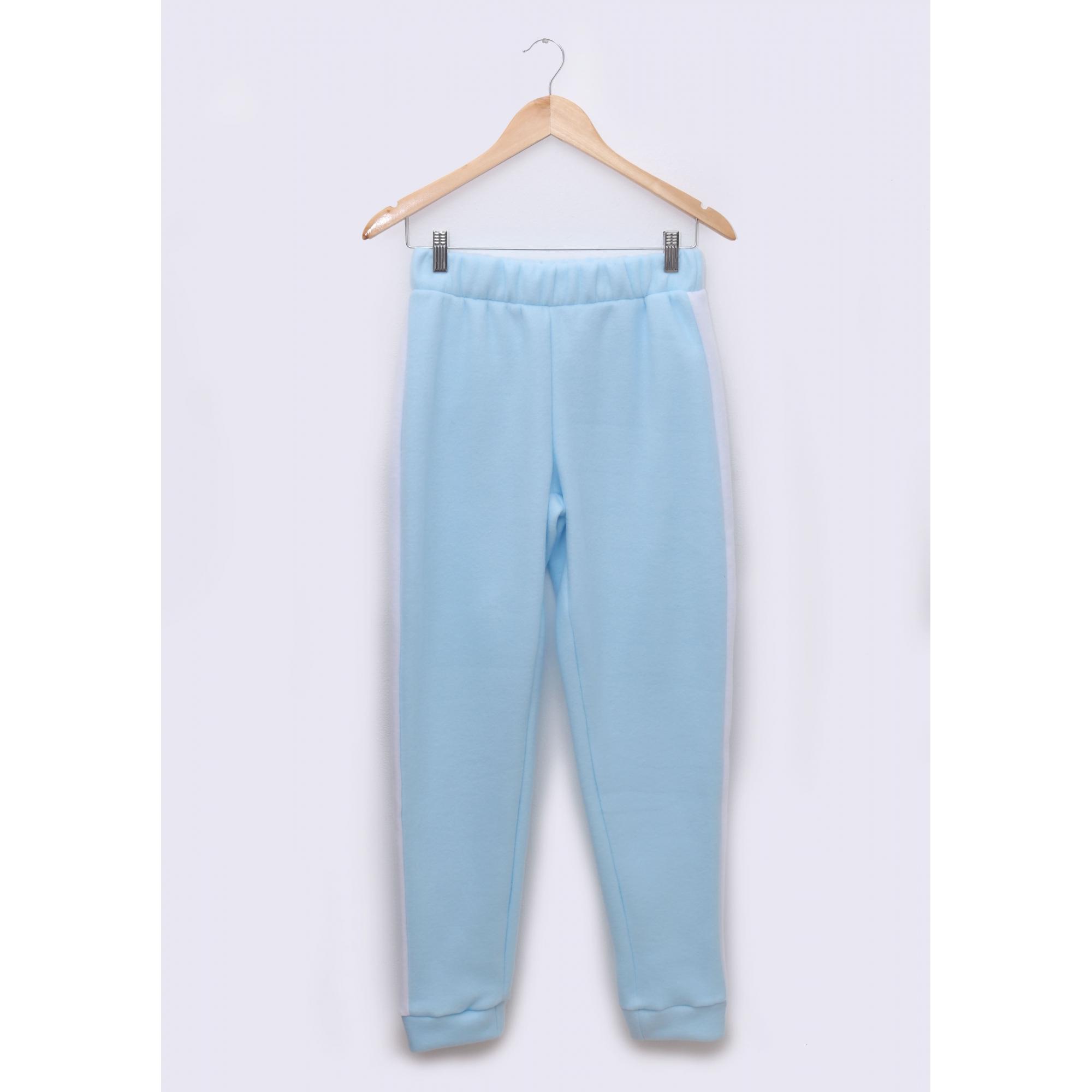 Pijama Adulto em Soft Fleece Azul
