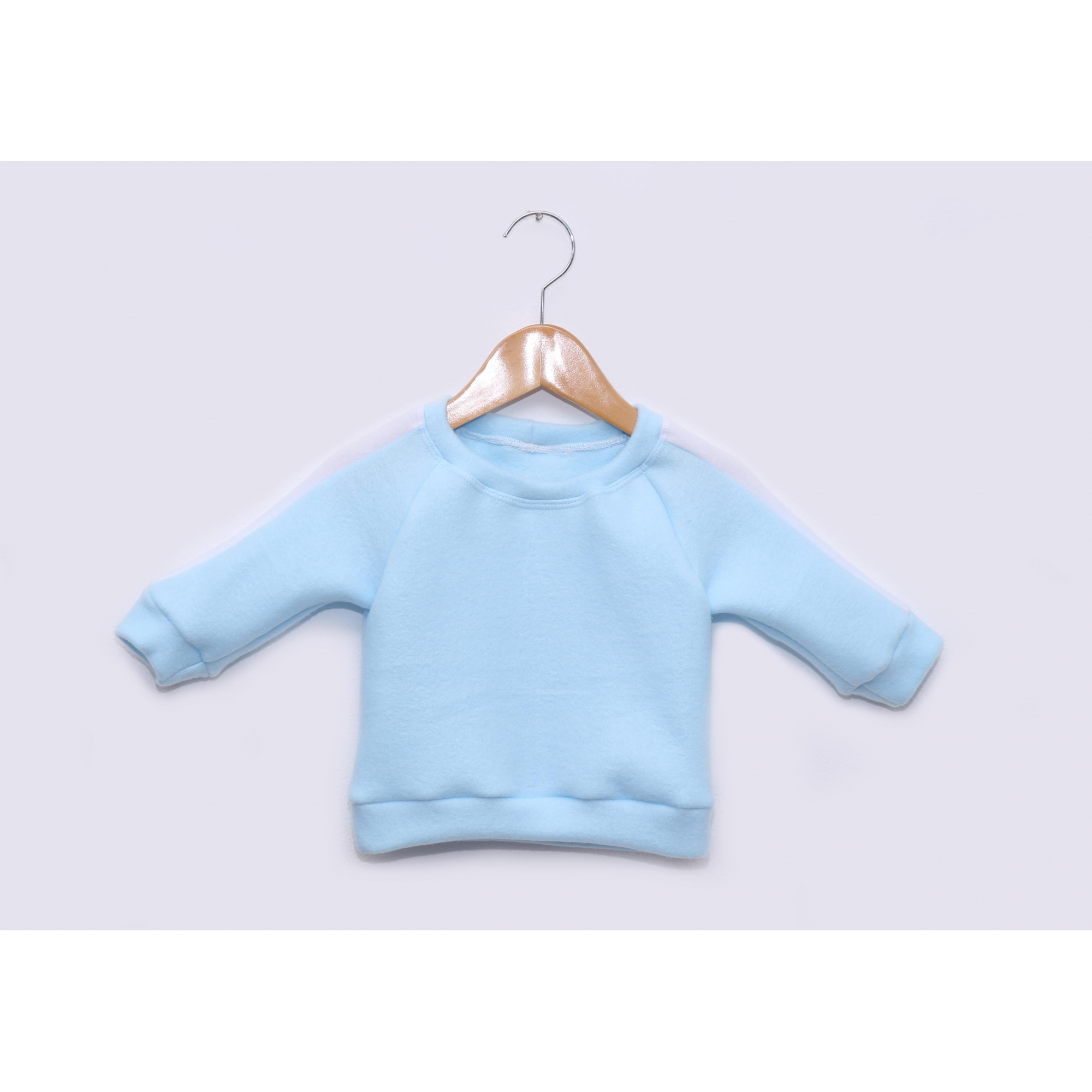 Pijama Bebê em Soft Fleece Azul