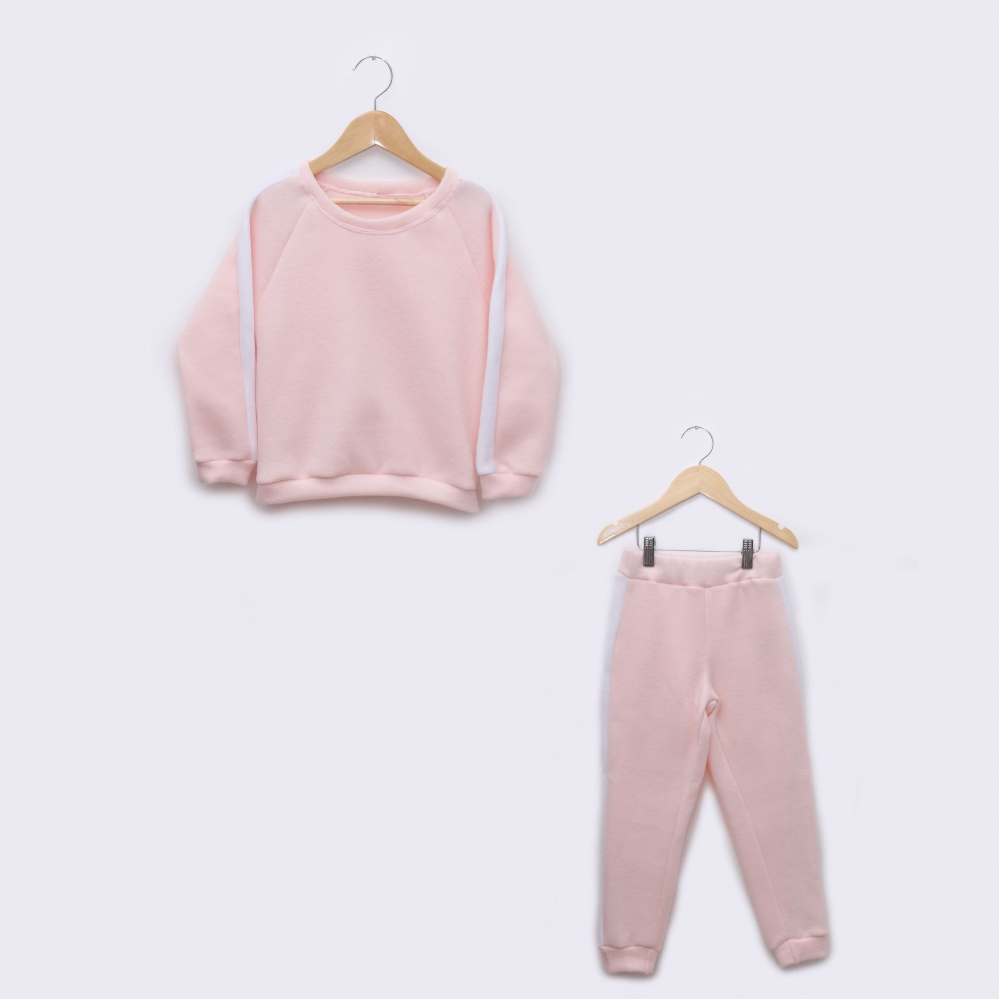 Pijama Infantil em Soft Fleece Rosa
