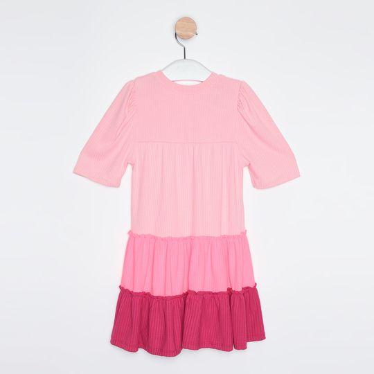 Vestido Infantil Três Marias Pink