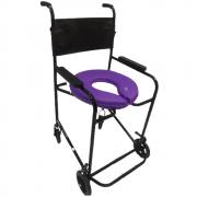 Kit Cadeira de Banho com Almofada macia